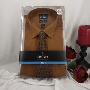 Dress Shirt with Matching Tie in Box NWT